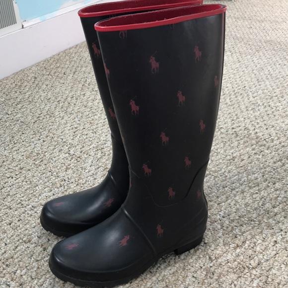 Womens Polo Ralph Lauren Rain Boots